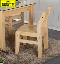 Natural wooden tables and chairs solid wood kids table and chairs
