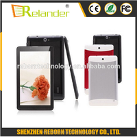 2016 Cheapest 7 inch tablet pc MTK6572 V70 with phone call function