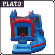 modular inflatable wizard castle, inflatable dark magic bouncer, inflatable ghost house