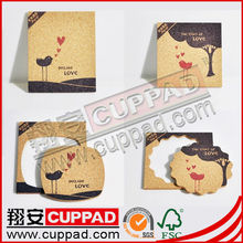 2013 hot selling newest popular lovely metal drink coasters