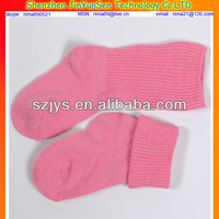 pink Lace Fancy Knitted Soft Touch Girls 100% Cotton Socks Baby