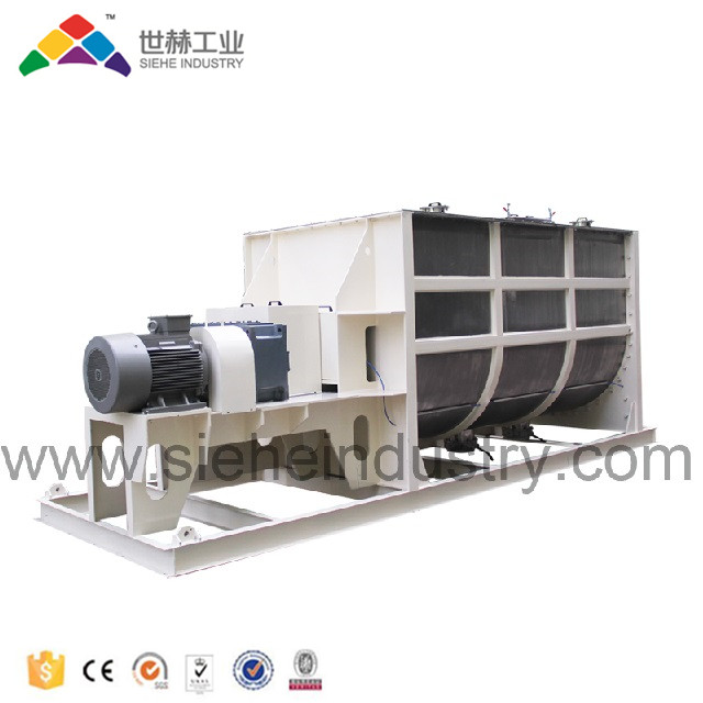 Industrial powder production continuous mixer