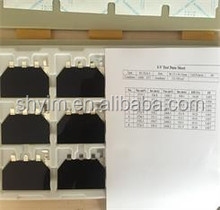 High efficiency solar cells price 30MM*40MM(EFF:27.5%)