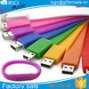 Bulk Cheap Silicon 8GB USB Flash Drives 4GB Silicon USB Bracelet/Wristband USB