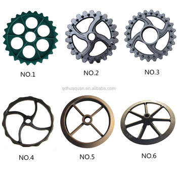 China agricultural cast iron wheels