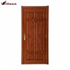 High quality HDF fir skeleton 6 panel carved door factory china