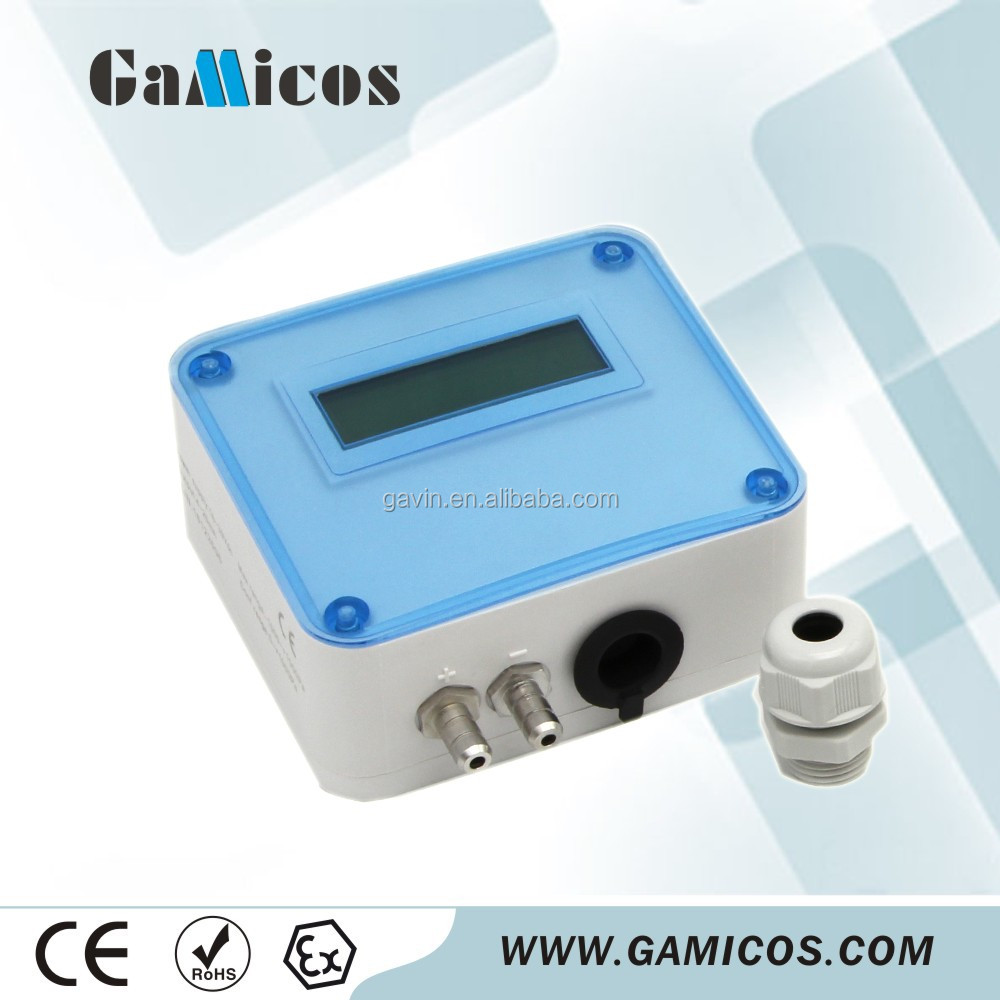 0-5V Micro Differential Pressure Transducer with LCD Display