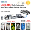 CE certificaion and good qulity nonwoven bag making machine make different bags