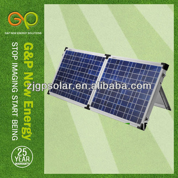 TUV 2 folding poly solar pv module panel (110W)
