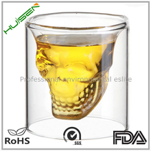 Unique Different Size Skull Shaped Glass Cup 25ml-250ml