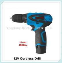 factory supplied Li-ion battery cordless screwdriver
