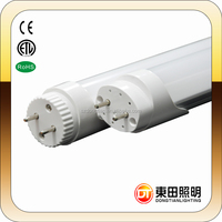 CE ROHS FCC Certificate Hottest sale high lumens led G13 0.6m 10W T8 tube light