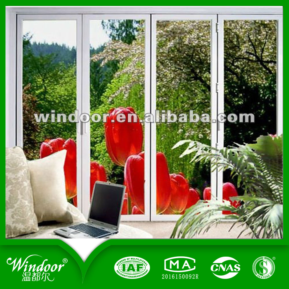 Double glazed glass style aluminum door, factory price metal quality hard material doors