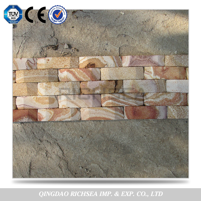 Chinese Natural Cheap Beautiful Cultured Sandstone Stack Stone