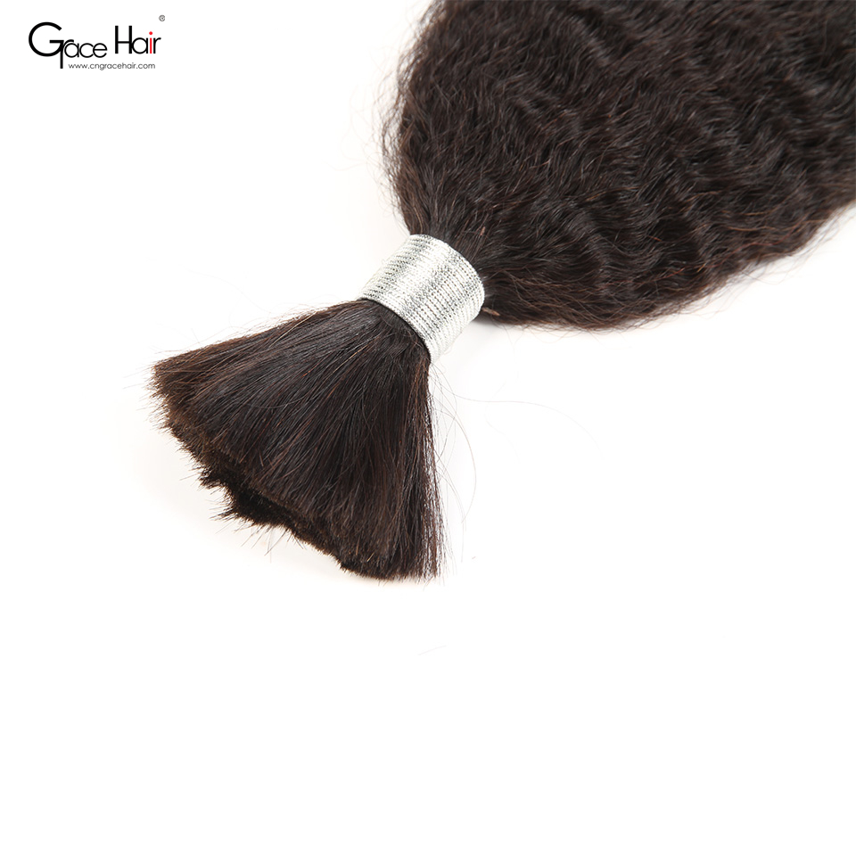 Brazilian hair bulk hair weave in bulk