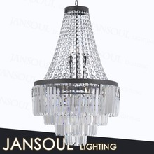 alibaba express china chrome crystal chandelier modern pendant ligth with chinese best k9 crystal for interior decoration