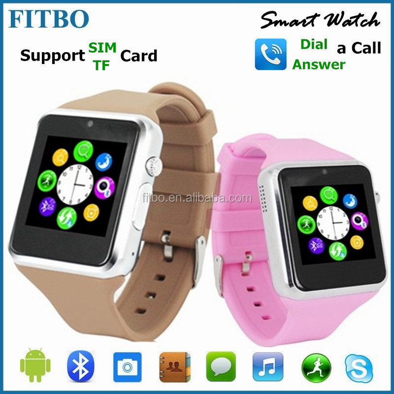4 Colors watch phone with tv/GSM/FM for BQ Aquaris X5 plus