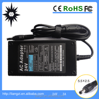 72w 24v wii 220v power adapter