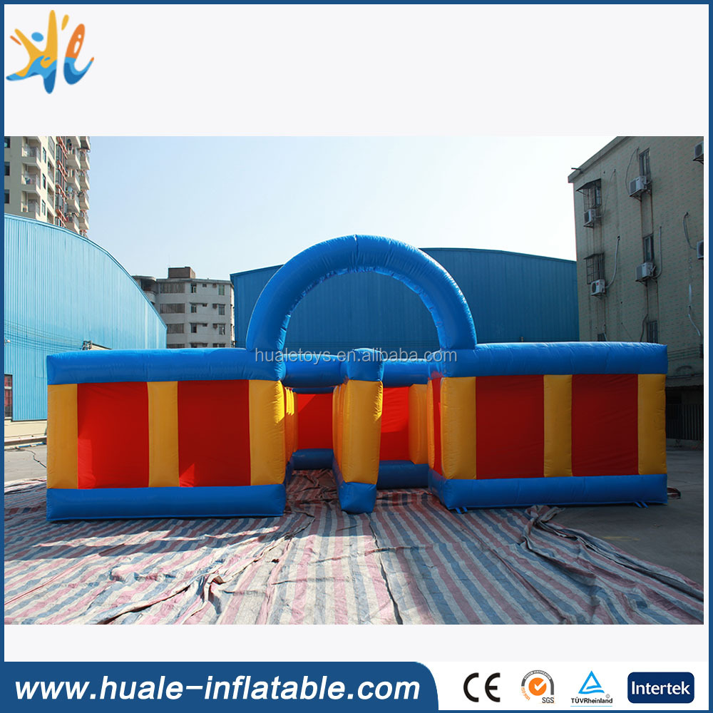 Outdoor inflatable sports inflatable maze for amusement park
