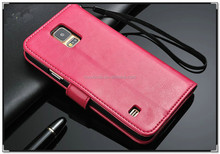 high class PU leather comfortable hand feel with wallet fuction case waterproof phone case for samsung galaxy s5
