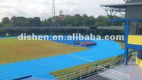 polyurethane running track surface