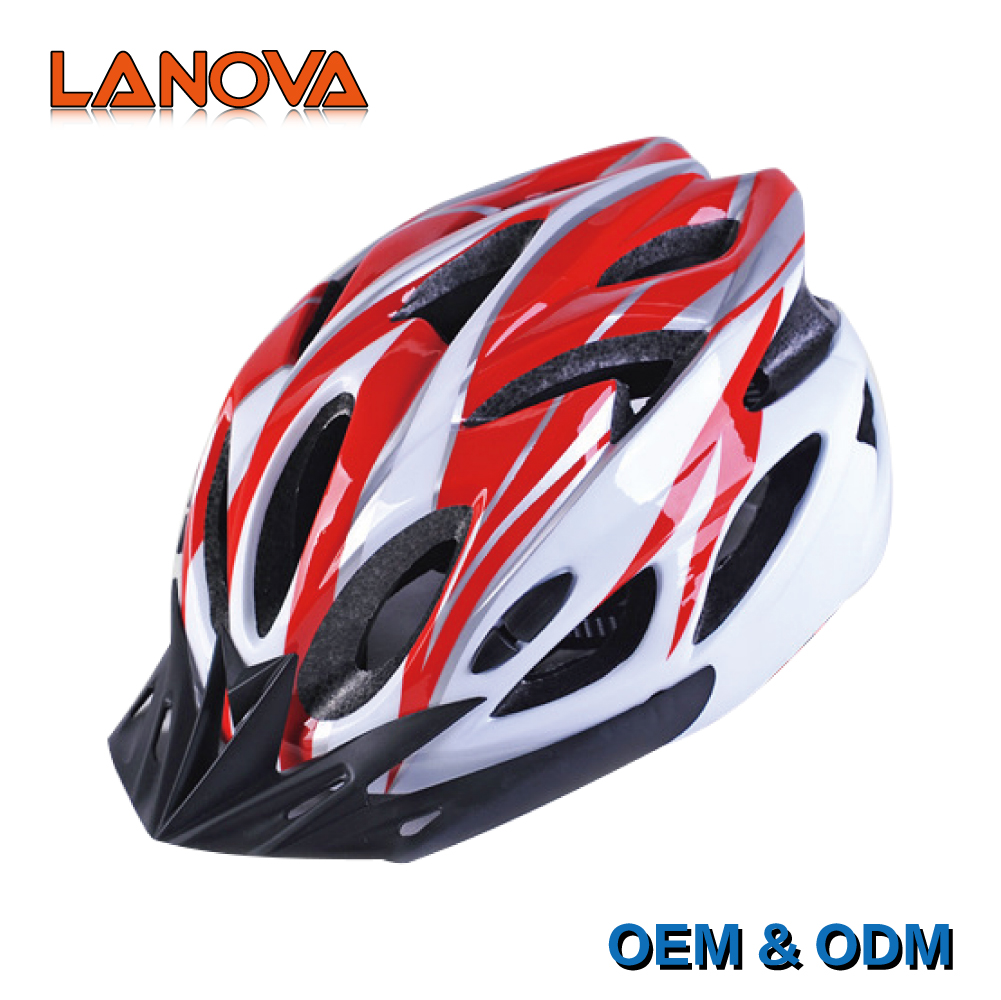 Custom made safety helmet visor, mtb bike cycling helmet bicycle for all ages