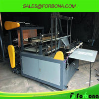 high speed garbage bag making machine