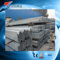 steel w beam guardrail