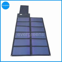75W 18V flexible and foldable automotive solar battery charger