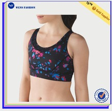Wholesale Sexy Yoga Printing Seamless Hot Sex Women's Sports Bra