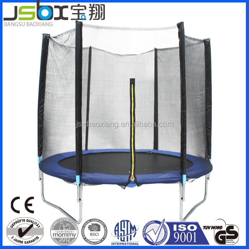 13FT trampoline with GS/TUV certificate, fitness toy for adult and kids