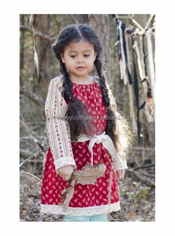 baby girl long sleeve winter frock design