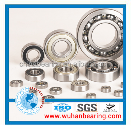 High quality deep groove ball bearing 6204 2RS