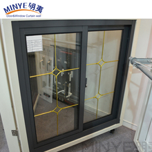 China Factory Price Sliding Windows/New Product Aluminum Glass Window Grill Design for Sale