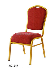 Hotel Furniture Wholesale Luxury Aluminum Chairs Hotel Louis Wedding Stacking Banquet Chair Aluminum Chairs