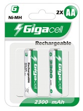 Rechargeable Ni-MH HR6 2300mAh rechargeable battery aa