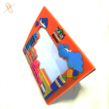 Italy souvenir tower shape 3d rubber pvc picture frame