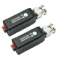 1CH CAT5 HD Passive UTP Video Balun BNC Female coaxial Transceiver RJ45 For CCTV System