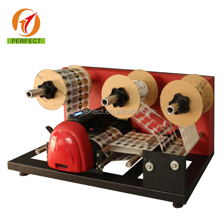 Automatic Roll to roll digital label die cutter rotary label die cutting machine