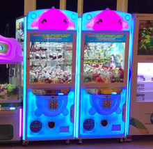 malaysia singapore arcade toy claw game machine prize gift vending machine for Christmas day