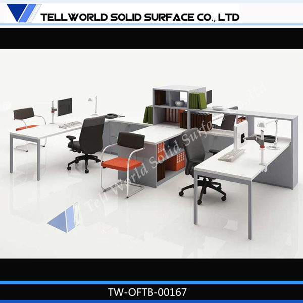 Latest design artificial stone managerial office desk dental workstation