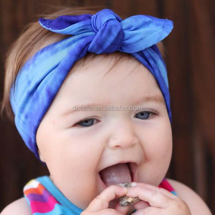 Baby Girl's Headbands Turban Knotted Headbands for Newborn,Toddler and Girls