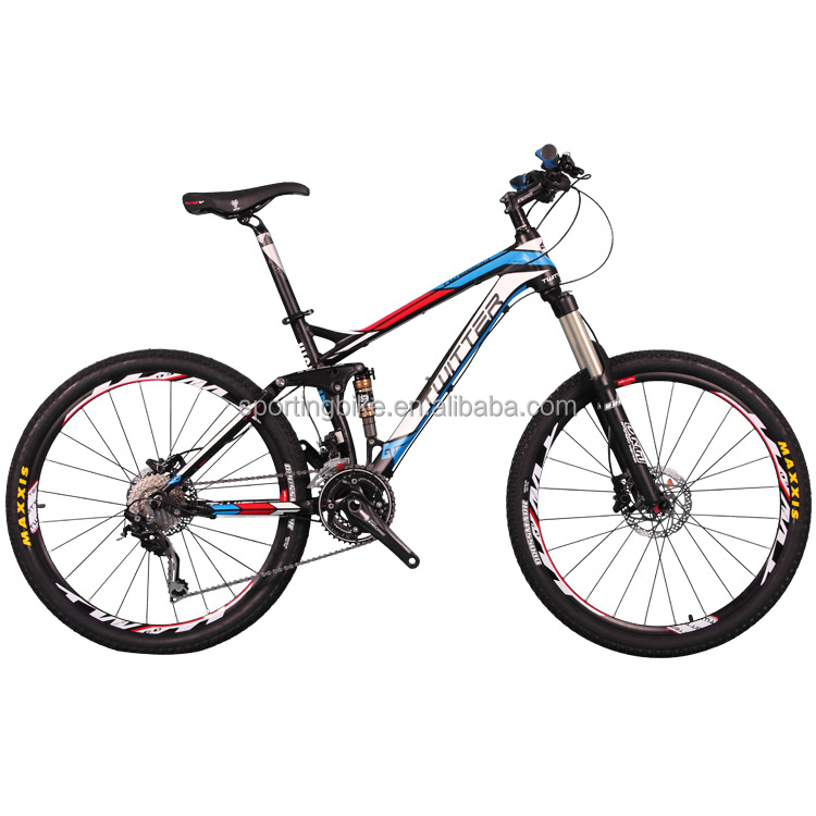 "30 Speed 26"" Alloy Mountain Bicycle MTB Full Suspension Mountain Bike"