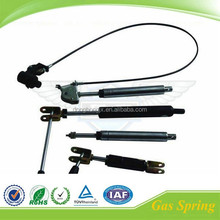 Adjustable couch piston gas shock with handle