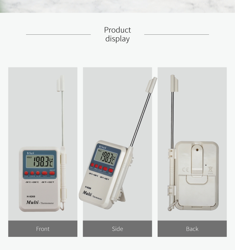 factory supply digital meat thermometer thermostat