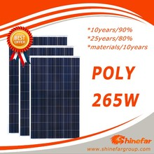 Perlight Top Quality Good Price Poly 250w 255w 260w 265w 270w Solar Panel for Energy System