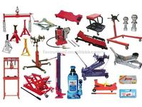 Hydraulic Jacks, Stands, Pipe Bender, Shop Press & Crane