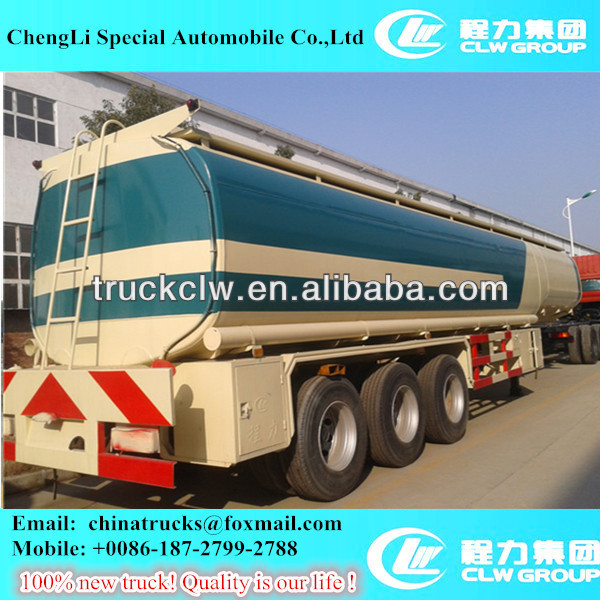 hot sale 40000L fuel tank trailer,oil crude storage tank trailer