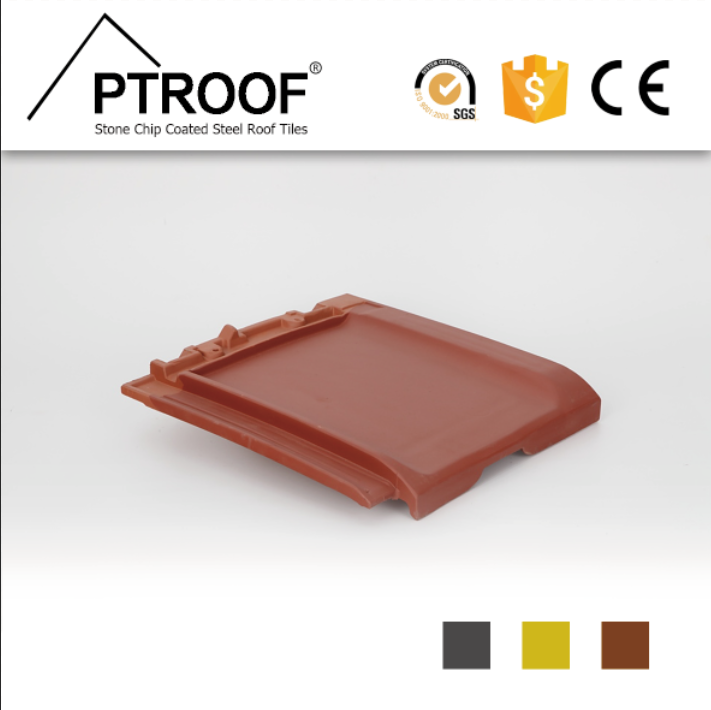 Hot selling Red plain clay roof tiles/flat ceramic roof tile for Townhouses and Villas