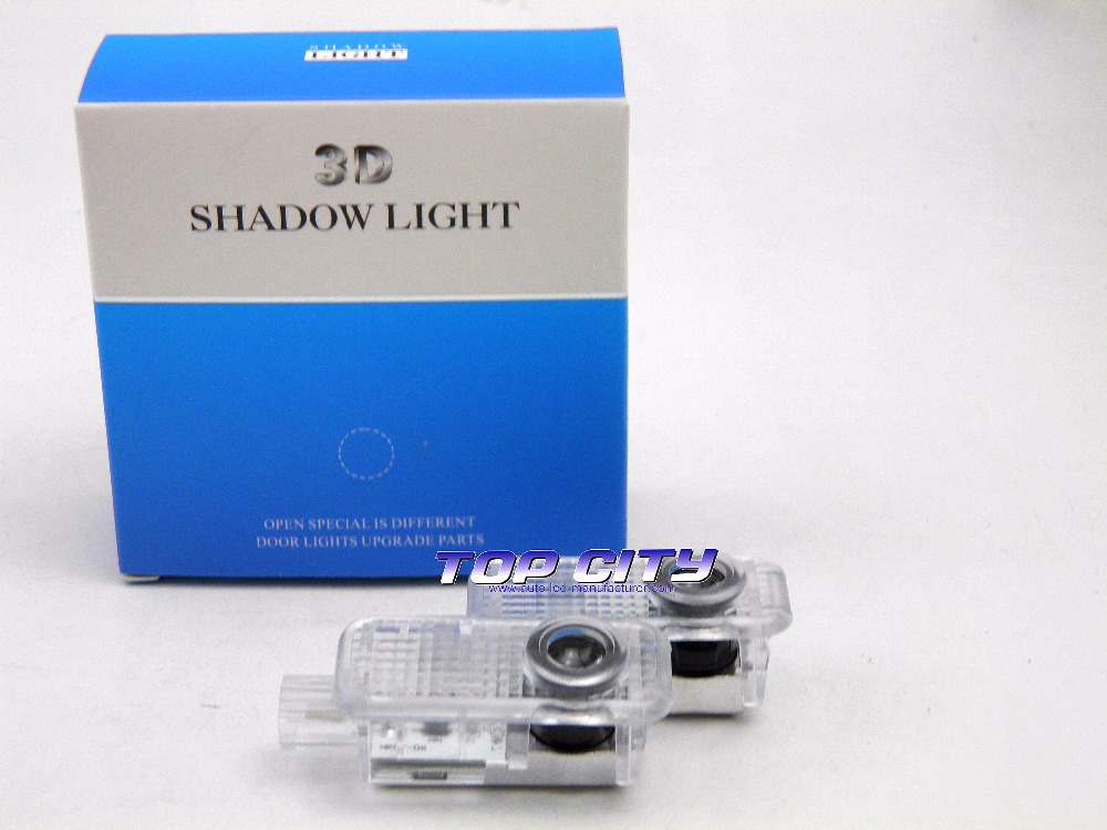 Manufacturer logo light projector for Audi VW BMW car accessories